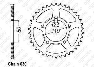 Couronne Cbx 1000 Z 79-80