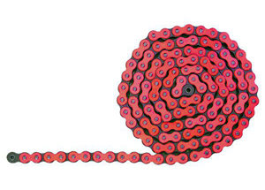 420 Hyper Renforce 132 M - Maillons Rouge Fluo