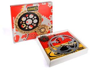 Kit chaine Rieju/Msa 50 Rr/Rc Sm/Spike