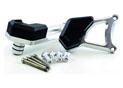 Kit Protection de Carters CNC Anodisés Noir Brutale 675/800 Gauche et Droit