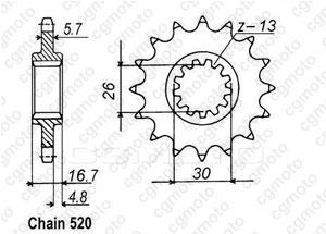 kit cha ne moto pour honda cb 900 f hornet sc48 2003. Black Bedroom Furniture Sets. Home Design Ideas